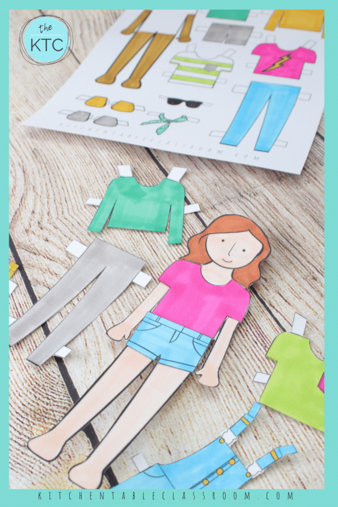 free printable paper dolls with clothes and accesories
