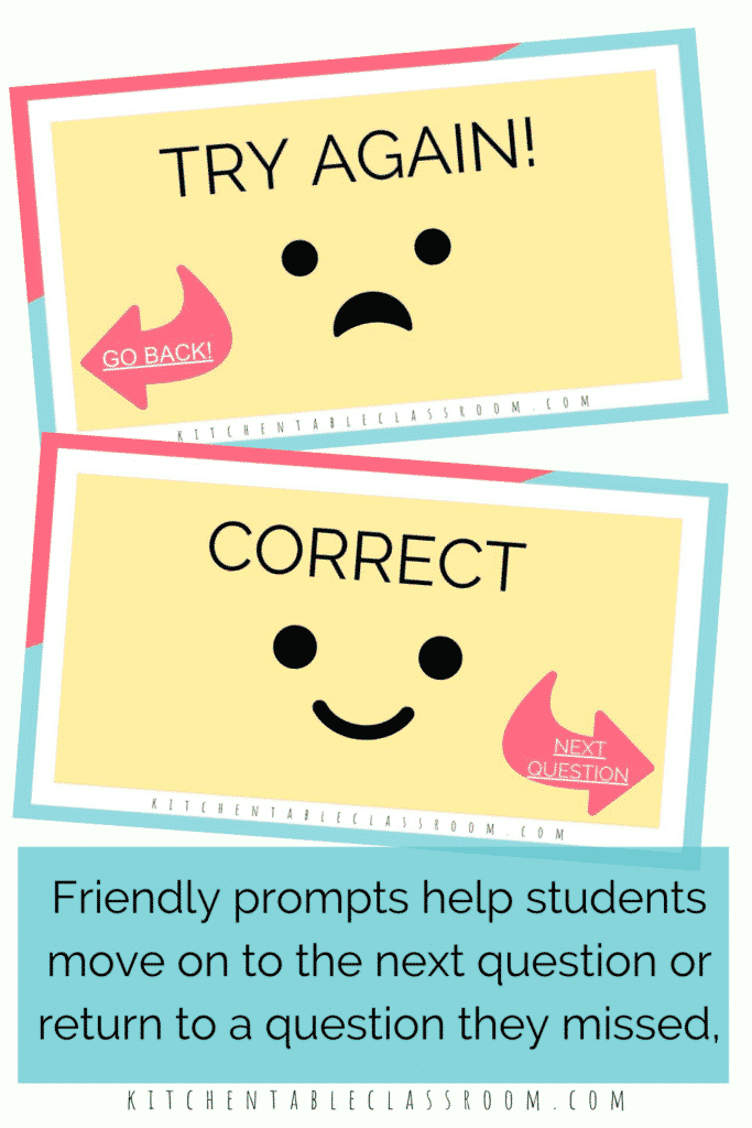 friendly prompts to help your students move through this Google Slide art activity