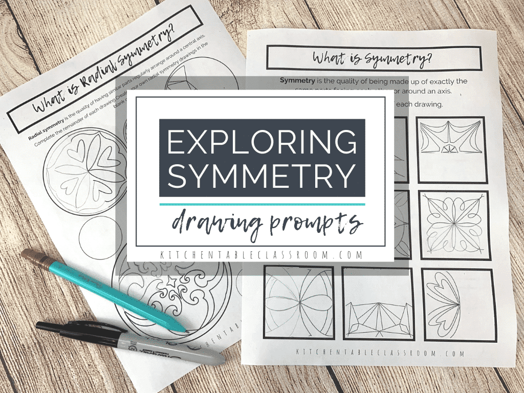 Symmetry worksheets for kids