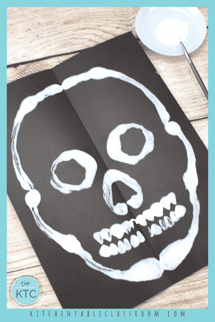 Adding features to your sugar skull painting