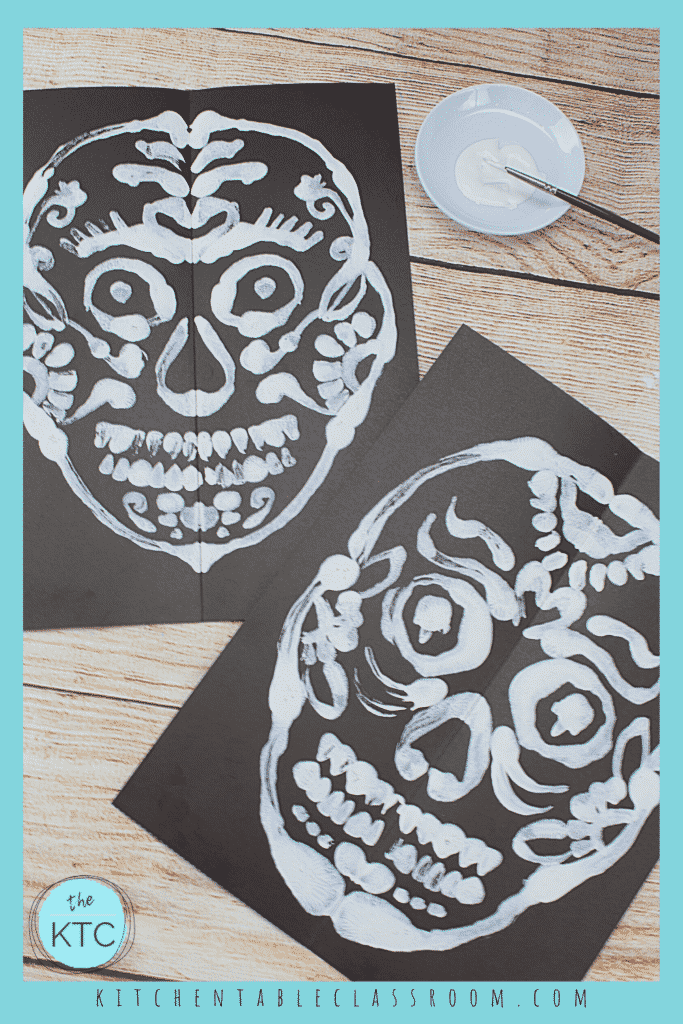 How to add embellishment to your sugar skull painting