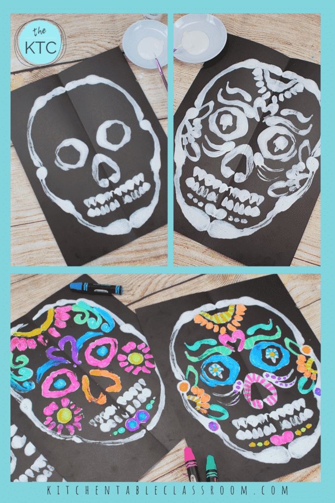 How to paint a sugar skull for kids