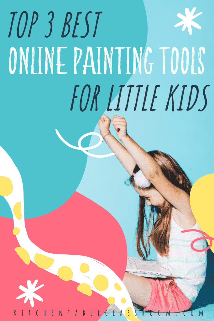 Top three best online painting tools for little kids