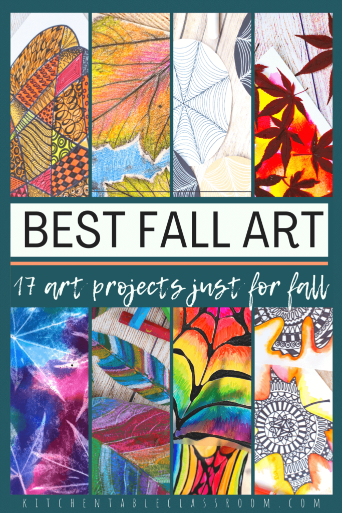 best fall art projects for kids- 17 fall activities for kids