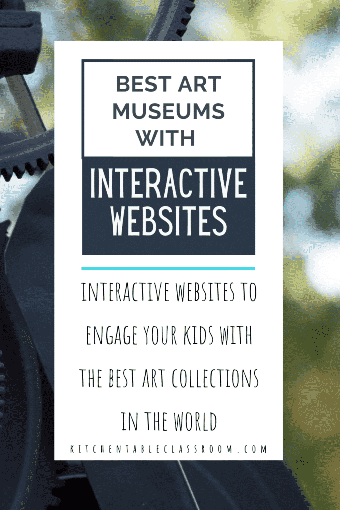 what are the best museums with interactive websites