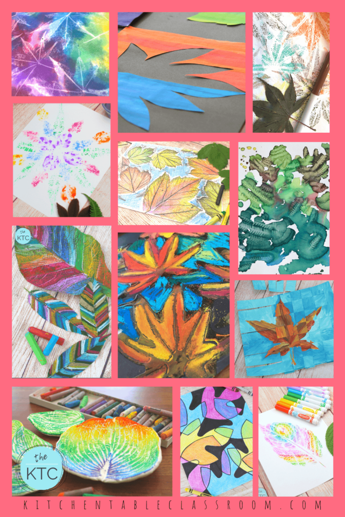 13 easy leaf art projects for kids of all ages