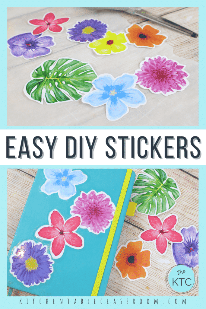 Learn how to make stickers at home