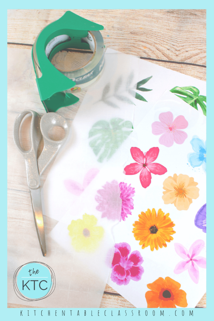 Learn how to make stickers at home.