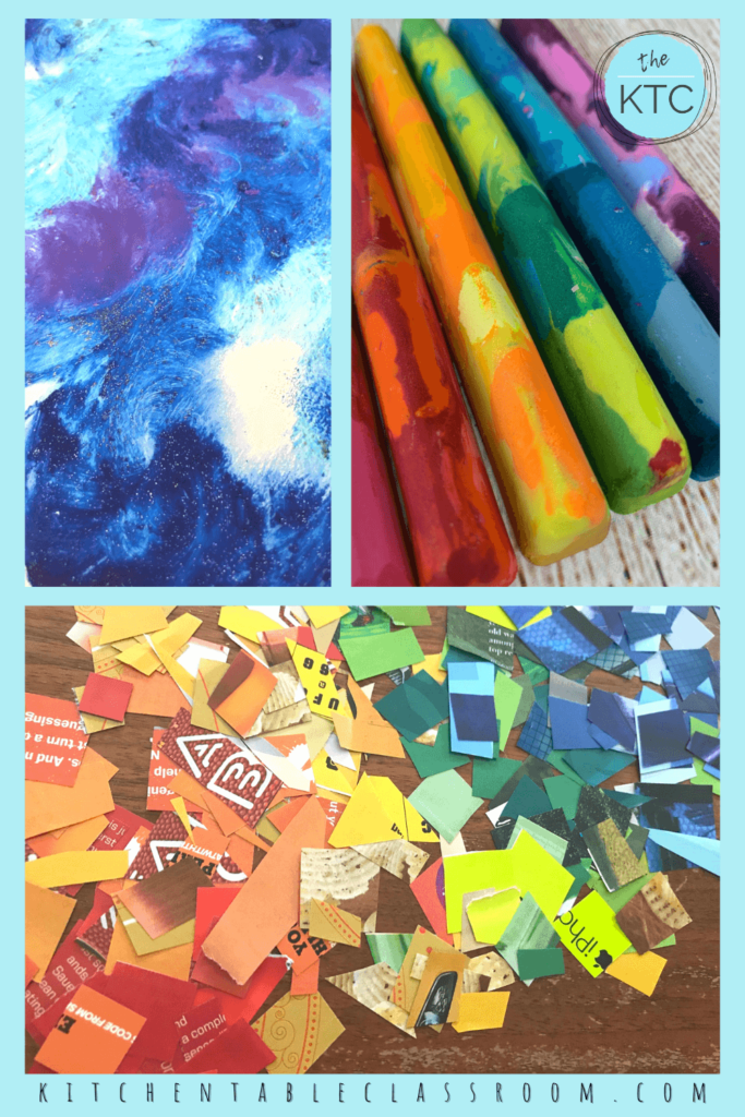 kids crafts from recycled materials