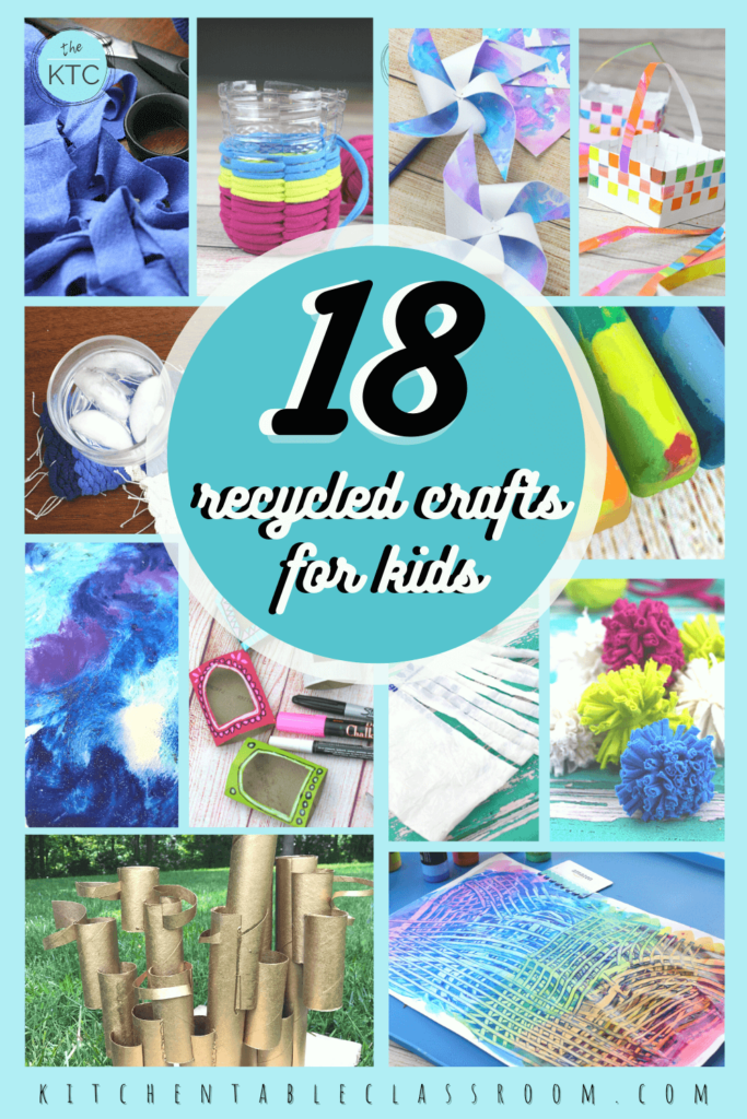 18 kids crafts from recyclables