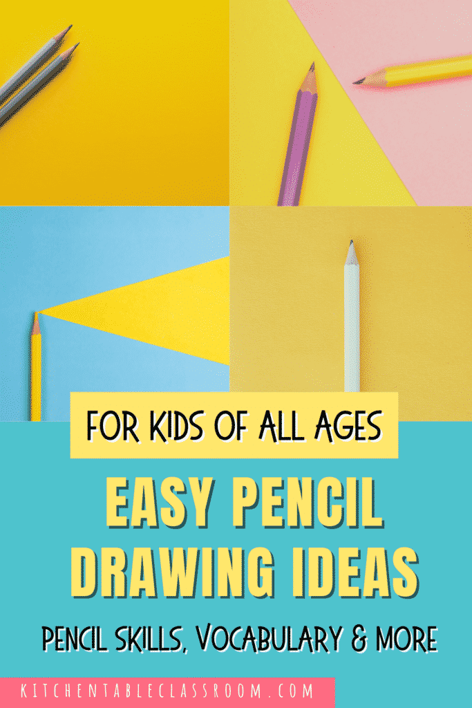 40+ pencil drawing ideas for kids