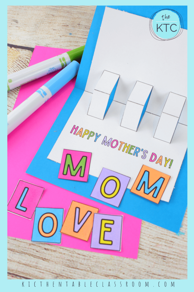 pop up card for Mother's Day