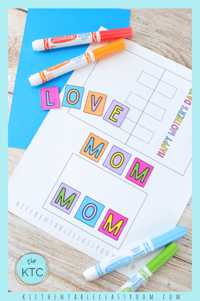 printable pop up cards for Mother's Day