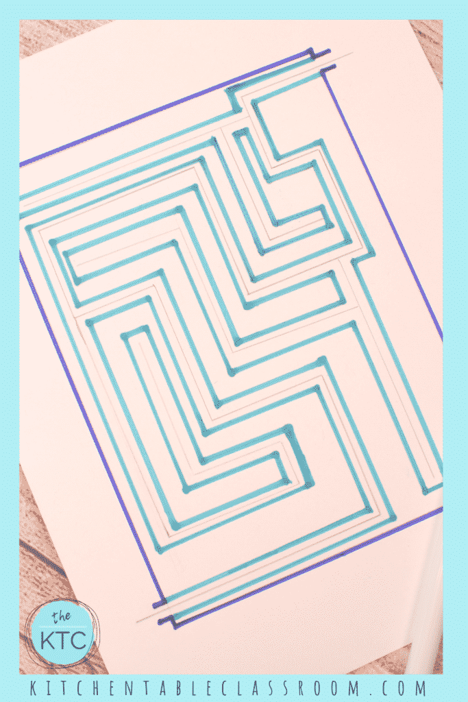 Design a maze the easy way with these simple directions!