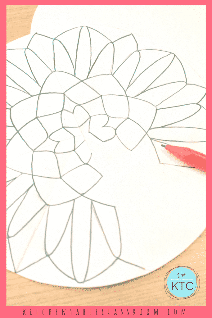 Learn how to transfer lines and create a precise mandala design.