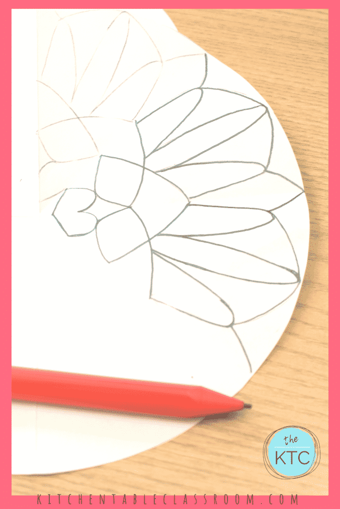Use this simple pencil transfer method to learn how to draw a mandala.