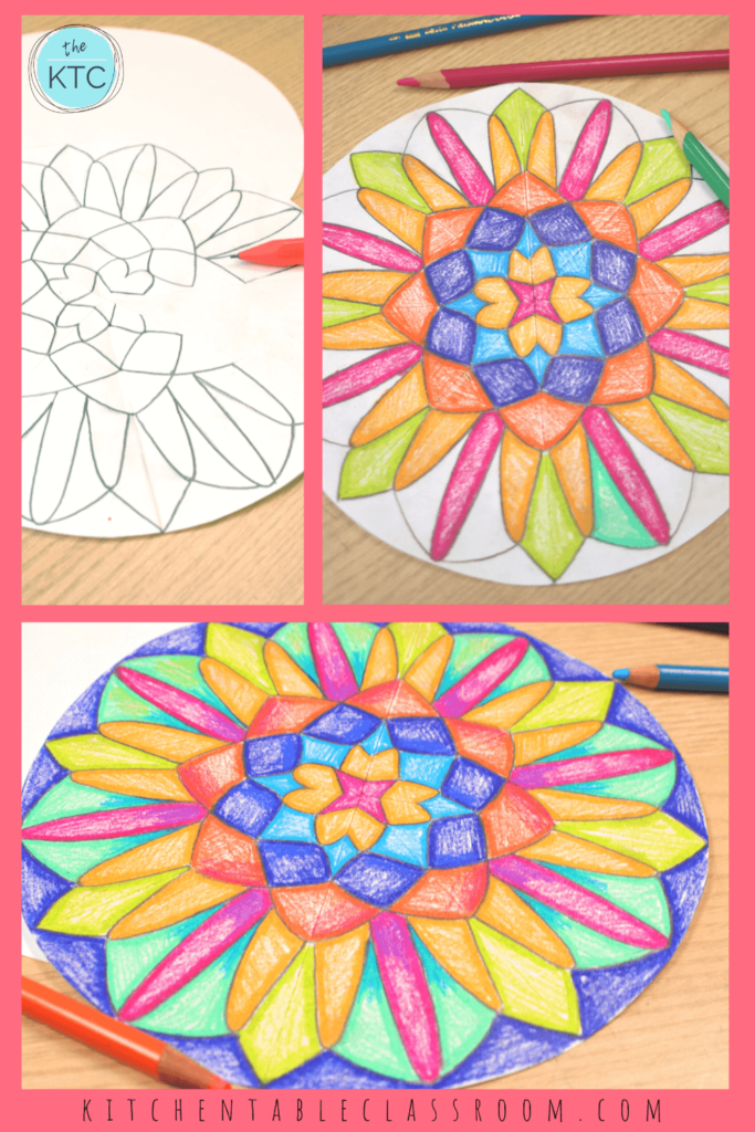Learn how to draw a mandala with this simple step by step drawing tutorial.