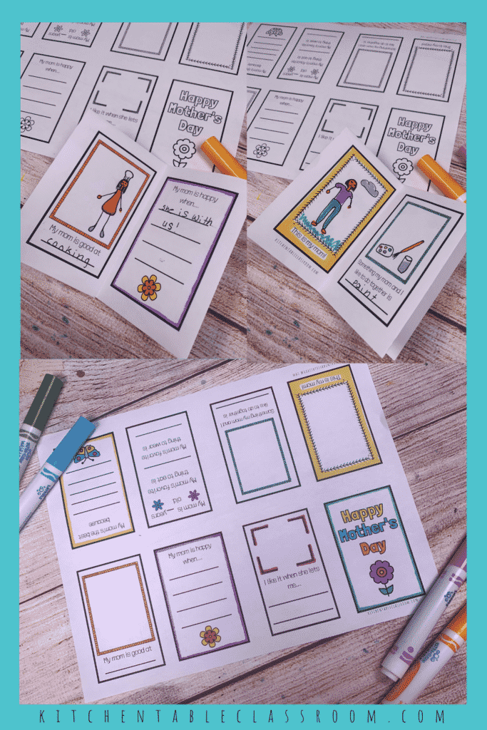 This printable Mother's Day memory book makes a sweet DIY Mother's Day gift.