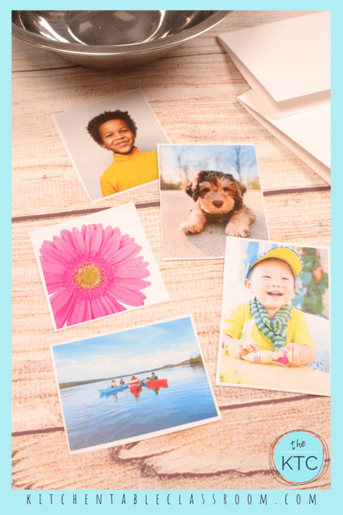 Choose photos printed with a laser printer for this packing tape transfer method.