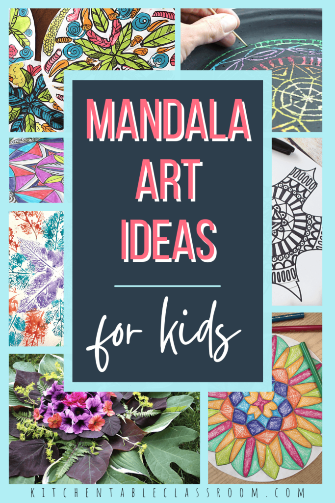 Check out 8 different mandala art ideas for beginners that all use basic at materials to make easy mandala art.